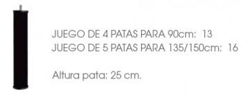 JUEGO DE 4 PATAS