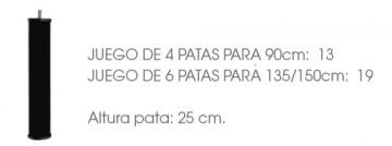 JUEGO DE 6 PATAS